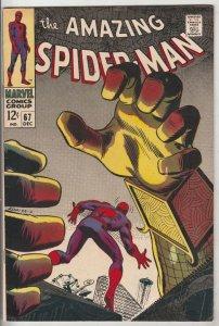 Amazing Spider-Man #67 (Dec-68) VF/NM High-Grade Spider-Man
