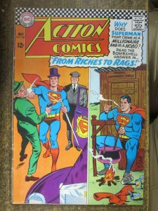 ACTION COMICS #337 (DC,5/1966)  VERY GOOD (VG) Silver Age Superman!