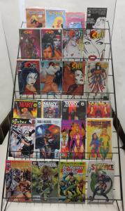 Heroine/Bad Girl/Spandex Maxi-Library SWB 120+ diff Vampirella-Tomb Raider XS1