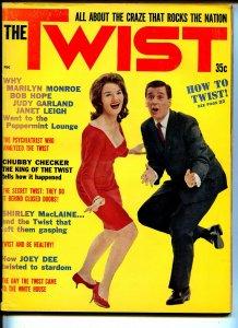 The Twist #1 1962-Chuby Checker-Joey Dee-Marilyn Monroe-Bob Hope-JFK-FN/VF