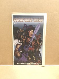 """1998 COMIC SHOP NEWS Magazine #578 """"Knewts Of The Roundtable"""" (M59-2)"""