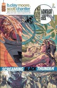Hawaiian Dick: Screaming Black Thunder #2 VF/NM; Image   save on shipping - deta
