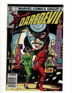10 Marvel Comics Daredevil # 197 188 189 190 191 + Young Avengers 1 3 4 5 6 EK9