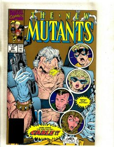 New Mutants # 87 NM 2nd Print Marvel Comic Book 1st Cable Appearance HJ10
