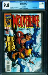 Wolverine #131 CGC 9.8 Racial slur edition-Marvel-2006680014