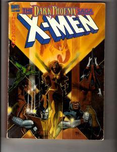 Uncanny X-Men Dark Phoenix Saga Graphic Novel Marvel Comics Book Stan Lee JL15