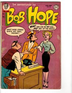 Adventures Of Bob Hope # 28 VG/FN DC Comic Book Comedy Series TP1