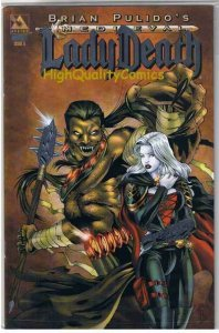 LADY DEATH : MEDIEVAL #5, NM+, Limited, Platinum , Variant, more LD in store