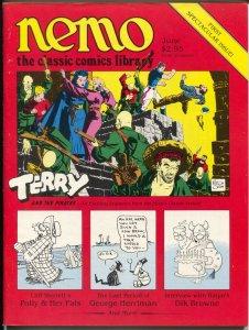 Nemo The Classic Comics Librery #1 1983-1st issue-Milton Caniffcover-Sterrett-FN