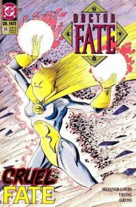 Doctor Fate (1988 series) #31, VF+ (Stock photo)