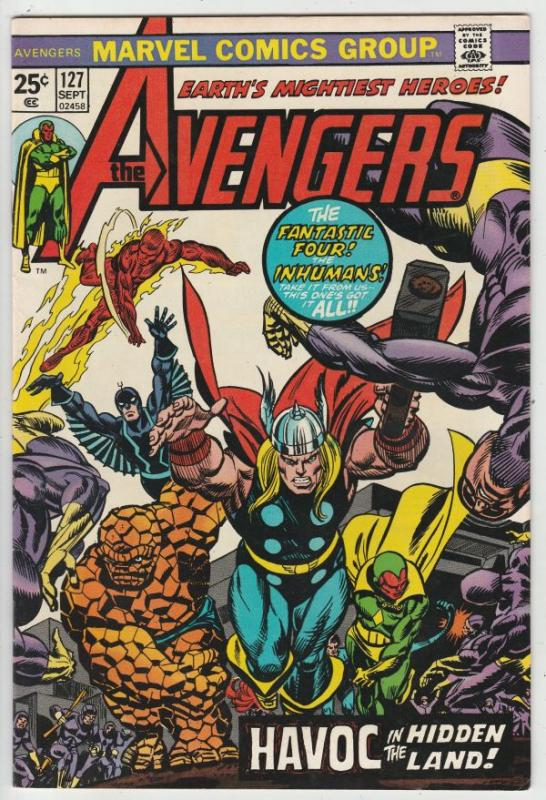 Avengers, The #127 (Sep-74) NM- High-Grade Avengers