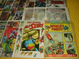 Lot of 45 DC Bronze-Modern Comic Books, Bagged & Boarded, No Dupes, L6