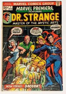 Marvel Premiere #7 (Mar 1973, Marvel) FN+ 6.5 Doctor Strange Mike Ploog cover