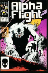 ALPHA FLIGHT #45-MARVEL COMICS-MUTANTS! NM