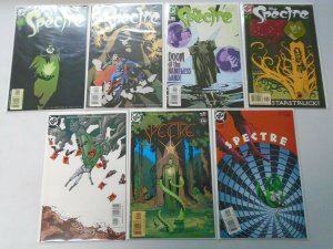 Spectre Comic Lot (4th Series) 7 Different Books 8.0 VF (2001-2002)