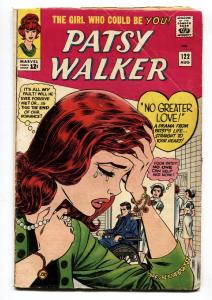 Patsy Walker #122 COMIC BOOK 1965-Marvel silver age- wheelchair cover