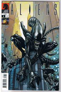 ALIENS #1, NM, John Arcudi, Horror, Sci-Fi, 2009, Day cover,Sci-Fi,more in store