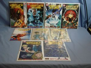 ENDER'S GAME: BATTLE SCHOOL Marvel Comics 2008 Series 1-5 With 4 VARIANTS L@@K!!
