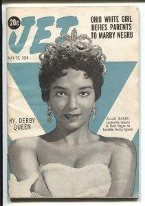 Jet  5/22/1958-Allan Baker-African-American culture-G Girls-VG