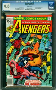 Avengers #156 CGC Graded 9.0 Doctor Doom, Namore and Whizzer appearance.
