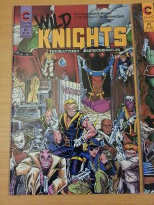 Wild Knights Shattered Earth 1-3 Complete Set Run! ~ NEAR MINT NM ~ 1988
