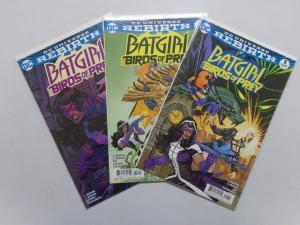 Batgirl and the Birds of Prey (2016) #1,3,4 - 8.0 VF - 2016