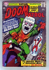 Doom Patrol #107 (Nov-66) VG/FN Mid-Grade Proffesor, Negative Man, Elasti-Wom...