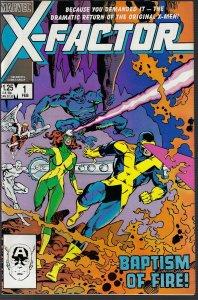 X-Factor #1 (Marvel, 1986) NM