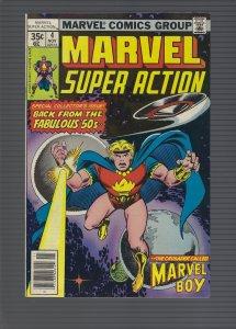 Marvel Super Action #4 (1977)