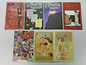 Strangers in Paradise run #46 to #59 - 14 different books - 8.0 - 2001