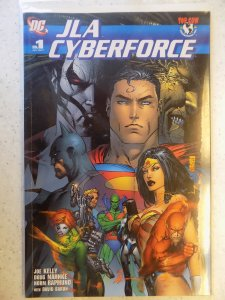 JLA CYBERFORCE # 1 DC TOP COW GN PRESTIGE
