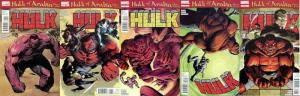 HULK (1999) 42-46 Hulk Of Arabia complete 5part story COMICS BOOK