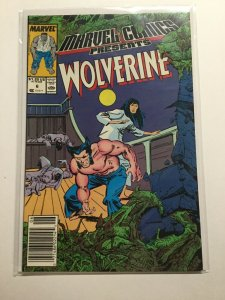 Marvel Comics Presents 6 Near Mint Nm Wolverine Newsstand Edition Marvel