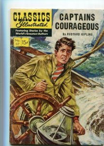 Classics Illustrated 117 VG-/VG Captain Courageous 1st Edition
