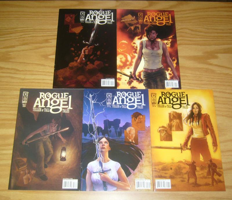 Rogue Angel: Teller of Tall Tales #1-5 VF/NM complete series 2 3 4 idw comic set