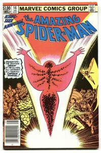 AMAZING SPIDER-MAN ANNUAL #16  First Captain Marvel (Monica Rambeau) VF
