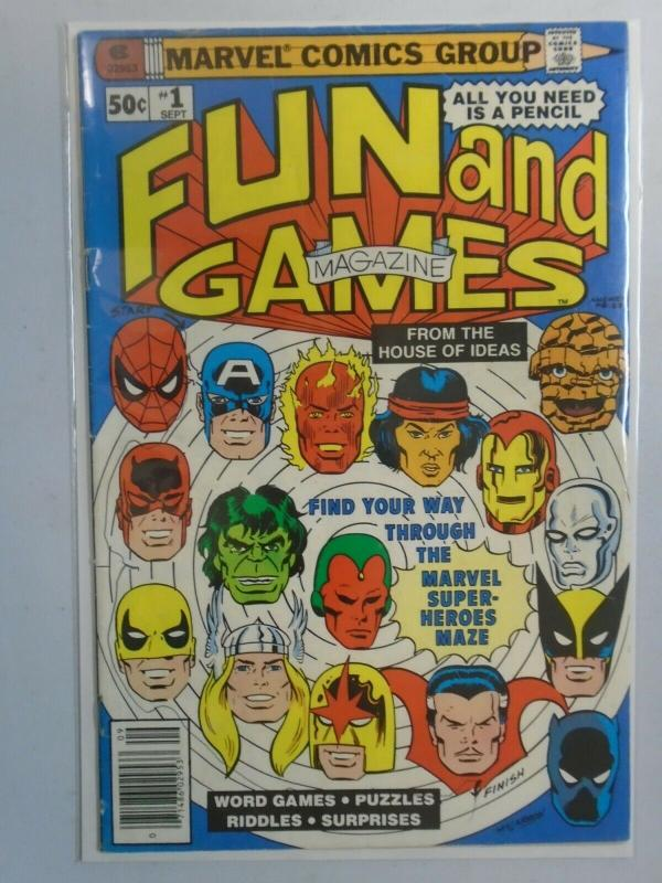 Marvel Fun and Games #1 4.0 VG (1979)