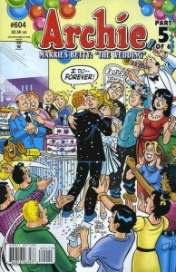 ARCHIE #604, NM, Marries Betty, 1942 - 2009, Archie, more in store