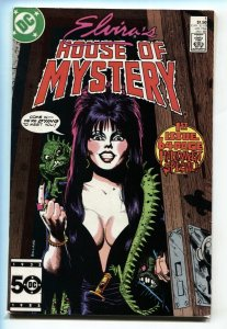 ELVIRA'S HOUSE OF MYSTERY #1 Newsstand 1986 First issue comic book