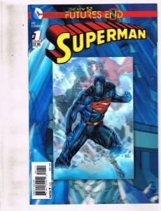 4 Futures End DC Comics NM # 1 1st Prnt Superman Booster Gold Catwoman Flash RF3