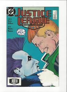 Justice League International #19 1987 DC Comics Copper Age  NM