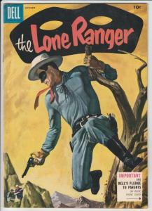 Lone Ranger, The #87 (Sep-55) VF/NM High-Grade The Lone Ranger, Tonto, Silver