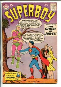 SUPERBOY #78-1960-DC-GHOST OF JOR-EL-vg/fn
