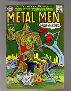 METAL MEN 14 VERY GOOD July 1965