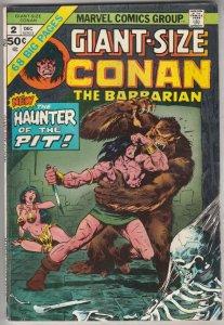 Giant-Size Conan #2 (Dec-74) FN Mid-Grade Conan
