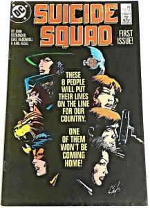 SUICIDE SQUAD#1 VF/NM 1987 DC COMICS