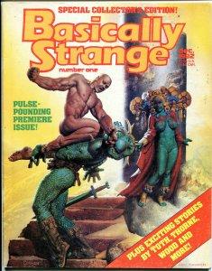 BASICALLY STRANGE #1, VG/FN, Richard Corben, Wally Wood Alex Toth 1982 Magazine