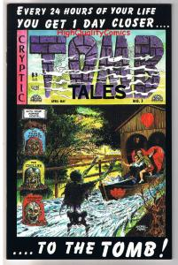 TOMB TALES #1, VF, George Evans, Horror, Pirates, EC, 1997,more indies in store