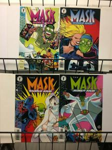 MASK WORLD TOUR (1995 DH) 1-4 Mask 10-13 complete story