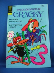 WACKY ADVENTURES OF CRACKY 7 VF NM File Copy Parrot  1974